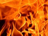 Tűzben lelte halált
